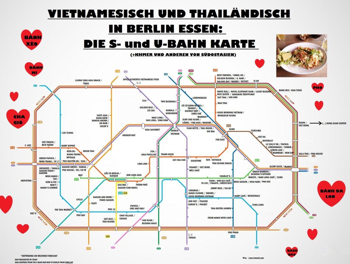 ubahn map for asian food berlin